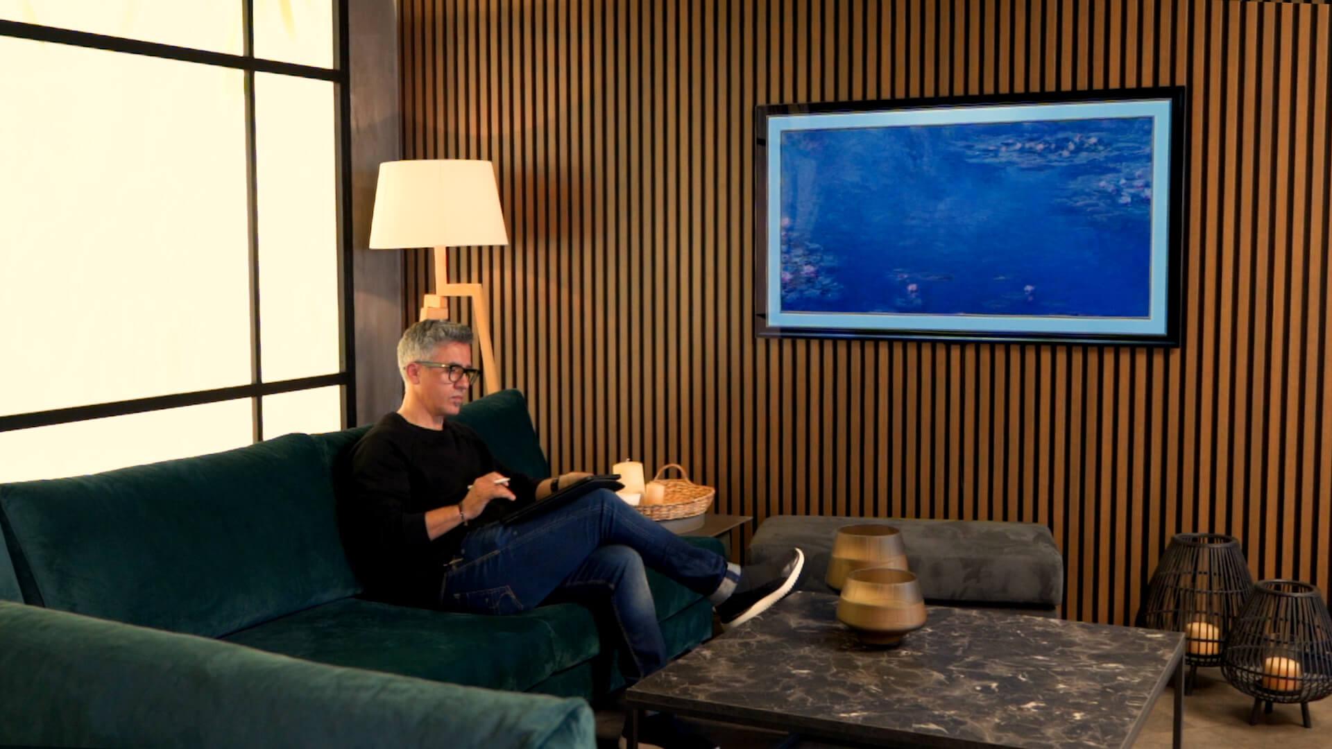 Κώστας Κωστας Γκάγκος Γκαγκος Τηλεοραση Τηλεόραση Kostas Gagos Television Product design OLED LG Gallery OLED TV T.V.